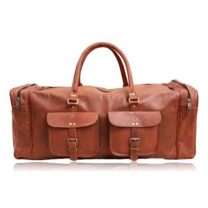 Pioneer Leather Duffel Bag