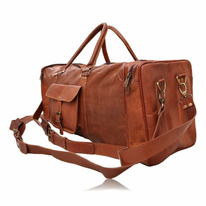 The Traveler Leather Duffel Bag